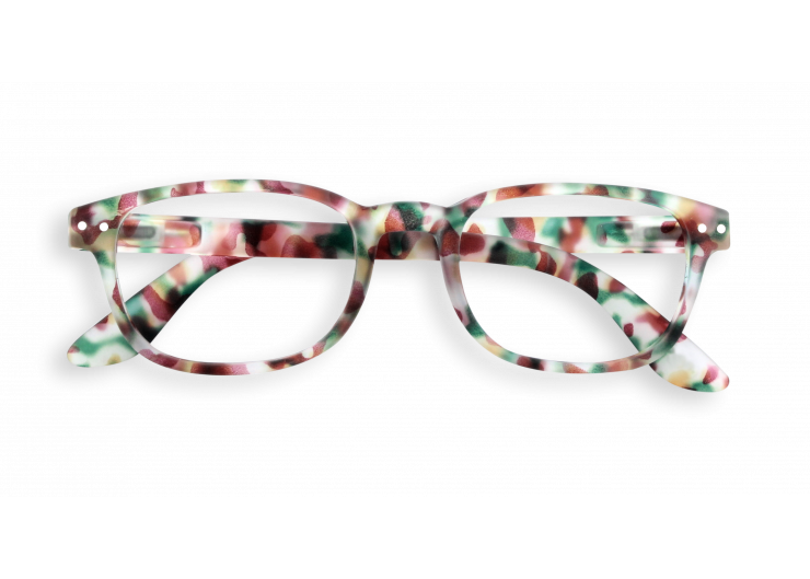 Izipizi B Green Tortoise reading glasses