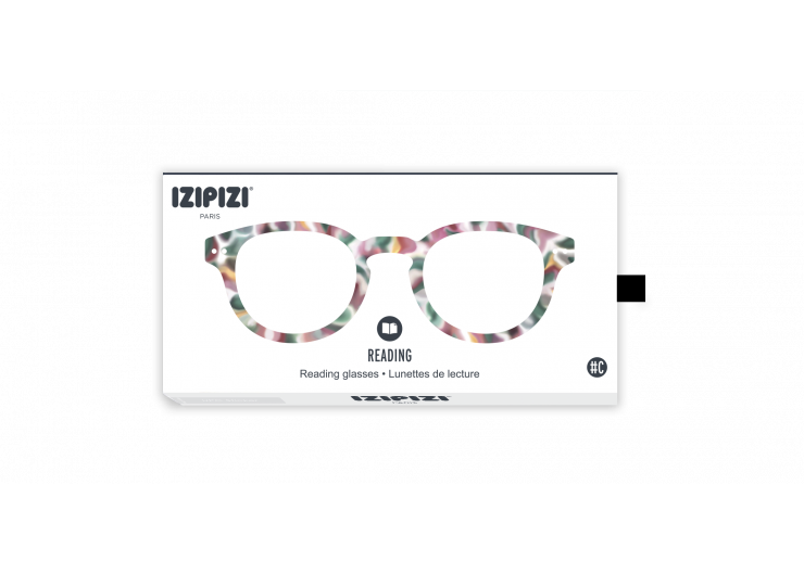 Izipizi C Green Tortoise reading glasses