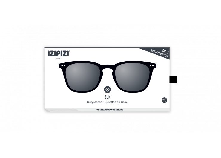 Izipizi E SUN Black sunglasses