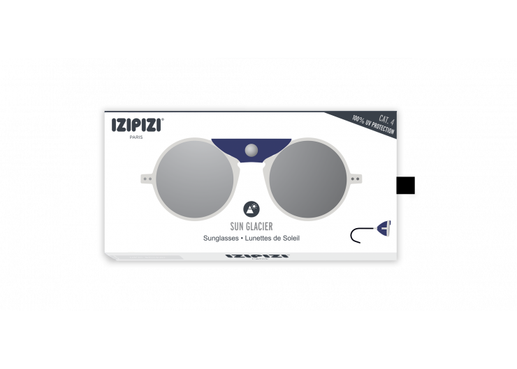 Izipizi SUN GLACIER White sunglasses mountain