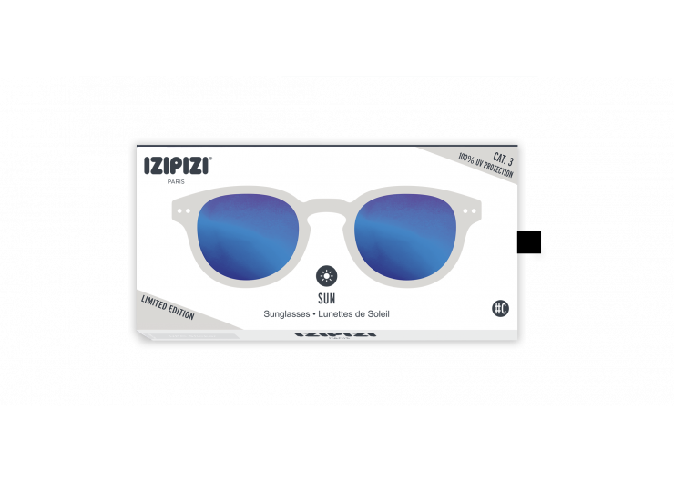 Izipizi C SUN White Mirror sunglasses