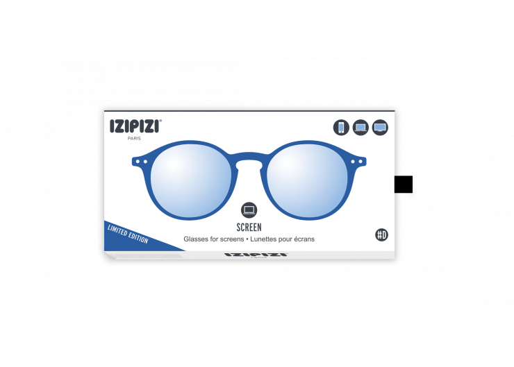 Izipizi D SCREEN King Blue lunettes repos ecran ordinateur