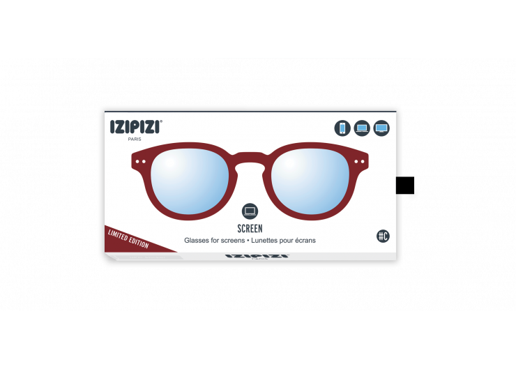 Izipizi C SCREEN Brown Broux screen protective glasses