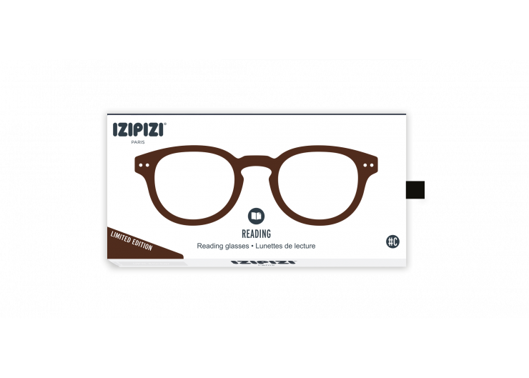 Izipizi C Dark Wood reading glasses