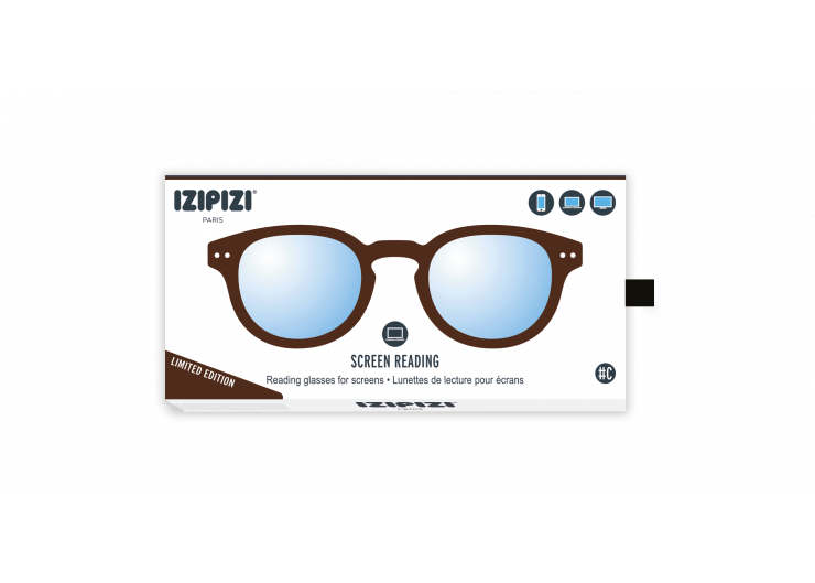 Izipizi C SCREEN Dark Wood lunettes repos ecran ordinateur