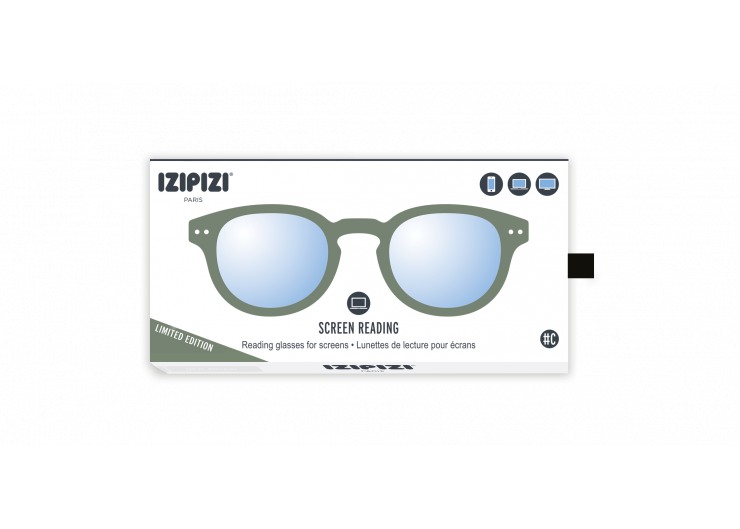 Izipizi C SCREEN Green Moss protective glasses