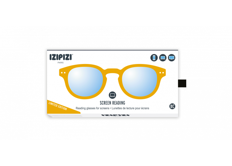Izipizi C SCREEN Yellow Ocher protective glasses