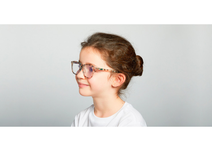 Izipizi E SCREEN JUNIOR Blue TortoisIzipizi E SCREEN protective glasses kids