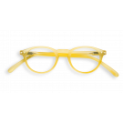 Izipizi A Yellow Chrome reading glasses