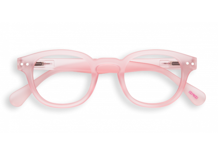 Izipizi C Pink Halo reading glasses