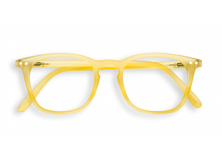 Izipizi E SCREEN Yellow Chrome lunettes repos ecran ordinateur