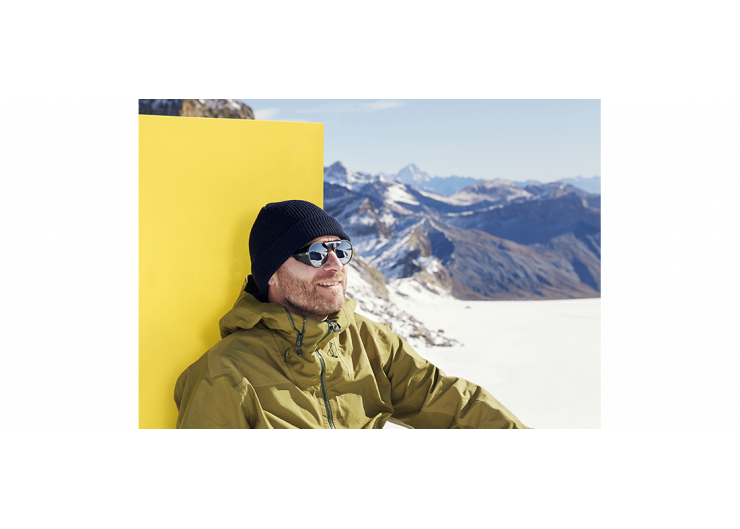Izipizi SUN GLACIER Black sunglasses mountain
