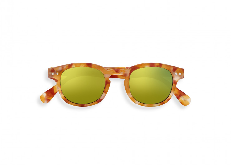 #C SUN JUNIOR Yellow Tortoise Mirror