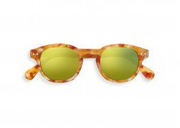 #C SUN Yellow Tortoise Mirror