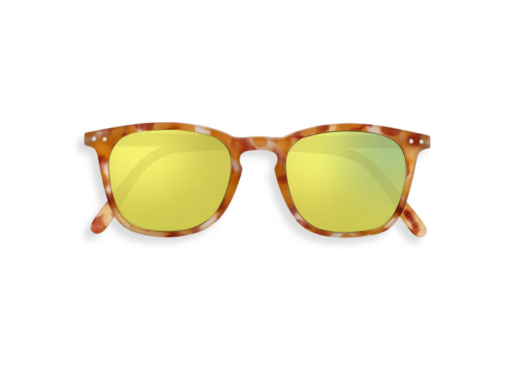 #E SUN Yellow Tortoise Mirror