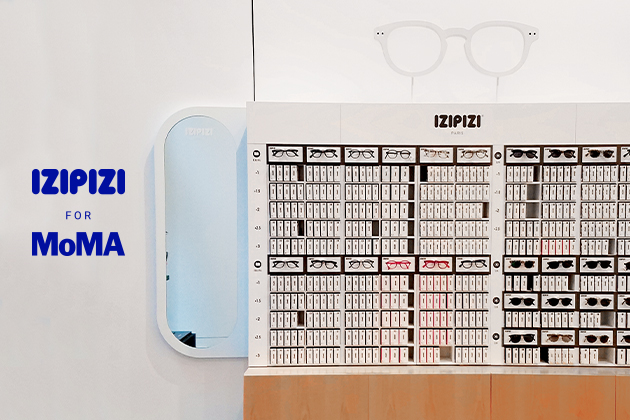 IZIPIZI x MoMA : une collab' et un pop-up...