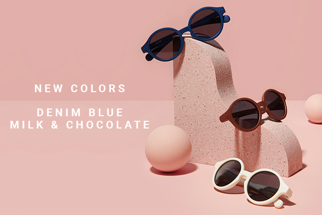 Denim Blue, Milk & Chocolate: the new SUN Baby...