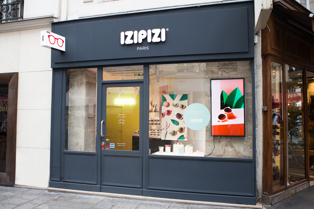 We are open ! Nouvelle boutique IZIPIZI, en plein...